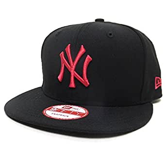 (ニューエラ)New Era スナップバックキャップ NY ヤンキース 黒/桃 11308472 ブラック/ピンク 9FIFTY MLB NEW YORK YANKEES