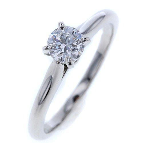 (カルティエ) CARTIER ソリティア リング・指輪 プラチナPT950/ダイヤモンド ダイヤモンド0.31ct レディース 中古 [PD3]