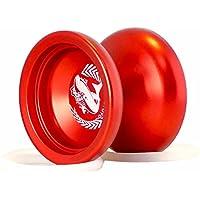 マジックヨーヨー,MAGIC YOYOマジックヨーヨーシャーク名誉N12フィンガースピンヨーヨーサンドブラスト仕上げ マジックヨーヨーサック付き 赤