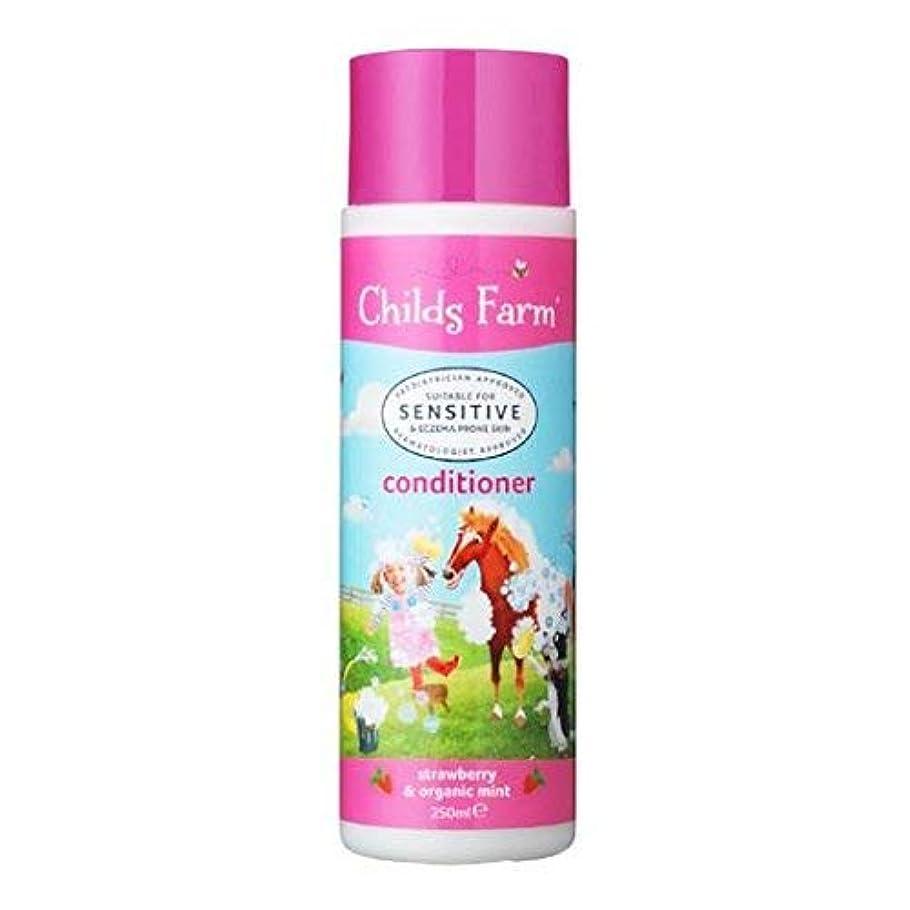 曖昧な乞食敗北Conditioner for Unruly Hair (250ml) x 6 Pack by Childs Farm