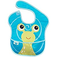 Oopsibaby Waterproof Feeding Bib, Sammy the Snail by Oopsibaby