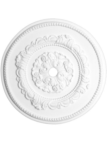 """Belle Meade 121/ 4""""天井Medallion with 1""""センター穴"""