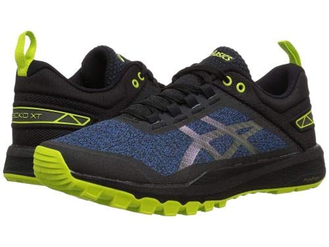 小道広々バレルASICS(アシックス) レディース 女性用 シューズ 靴 スニーカー 運動靴 Gecko XT - Aquarium/Black [並行輸入品]