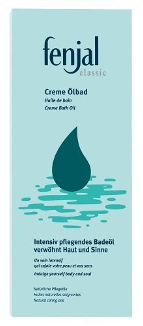 古くなった警報収束するCream Oil Bath 200ml bath oil by Fenjal