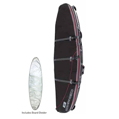 Ocean&Earth(オーシャンアンドアース) DOUBLE WHEEL LONGBOARD COVER 9'6 Black/Red