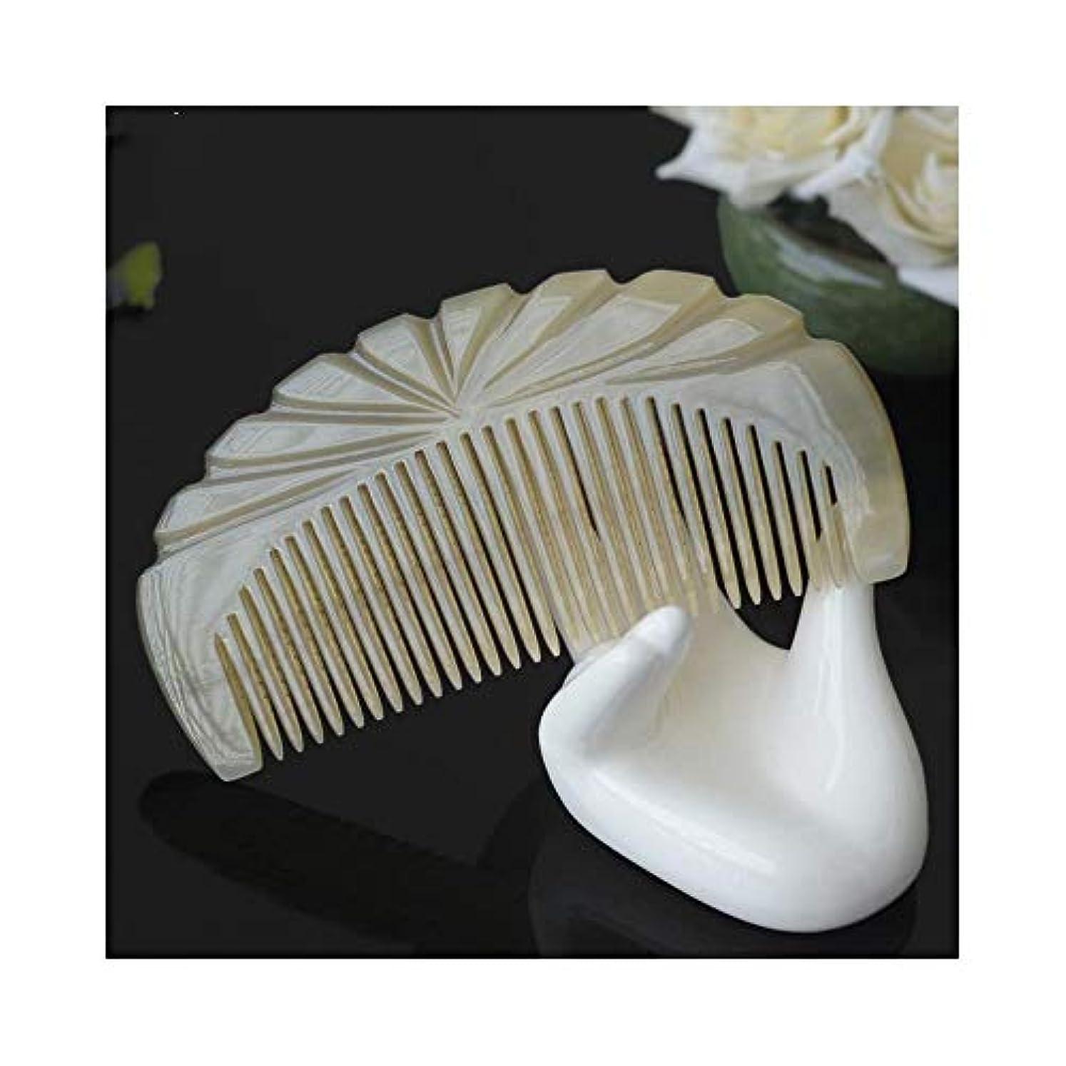 提案一本土WASAIO 毛は自然な木の櫛の毛にブラシをかけます-もつれを解くための自然な帯電防止木