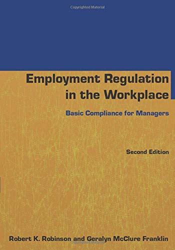 Download Employment Regulation in the Workplace 0765640805