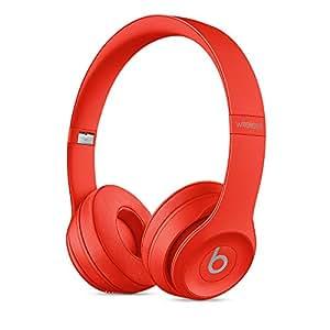 Beats by Dr.Dre ワイヤレスオンイヤーヘッドホン Beats Solo3 Wireless 連続再生約40時間 Bluetooth対応 W1チップ搭載 密閉型 通話可能 リモコン有り シトラスレッド MP162PA/A 【国内正規品/メーカー保証1年】