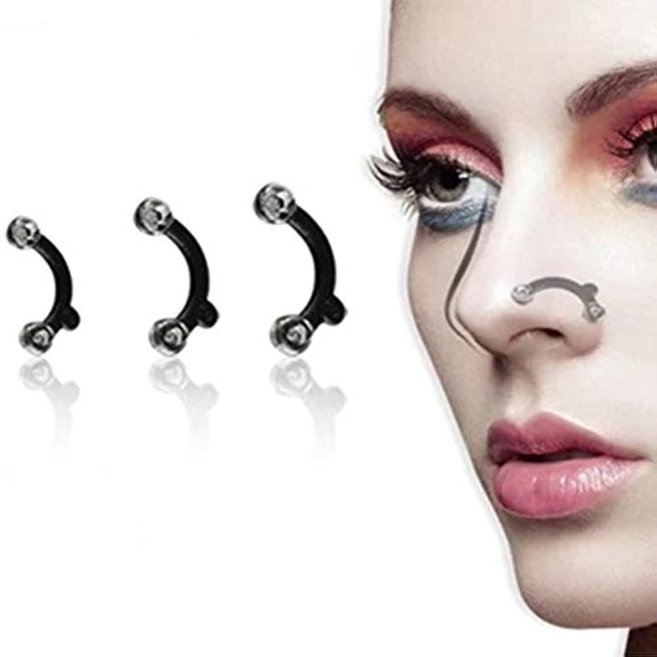 スキップ剣メロンLittleliving 鼻プチ 柔軟性高く ハナのアイプチ ビューティー正規品 矯正プチ 整形せず 23mm/24.5mm/26mm全3サイズセット