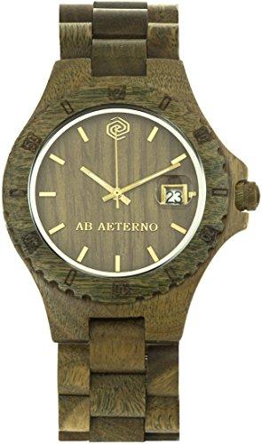 [アバテルノ]AB AETERNO 腕時計 NATURE COLLECTION ウッド ENVY 9825021 メンズ 【正規輸入品】