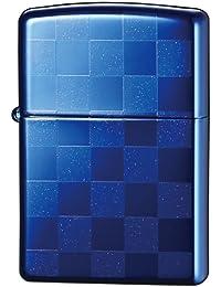 ZIPPO(ジッポー) ライター カラー チェック 両面加工 ブルー 25CK-BL