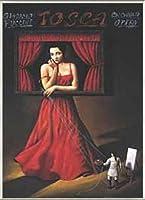 ポスター ラファル オルビンスキ Tosca 額装品 アルミ製ベーシックフレーム(ライトブロンズ)