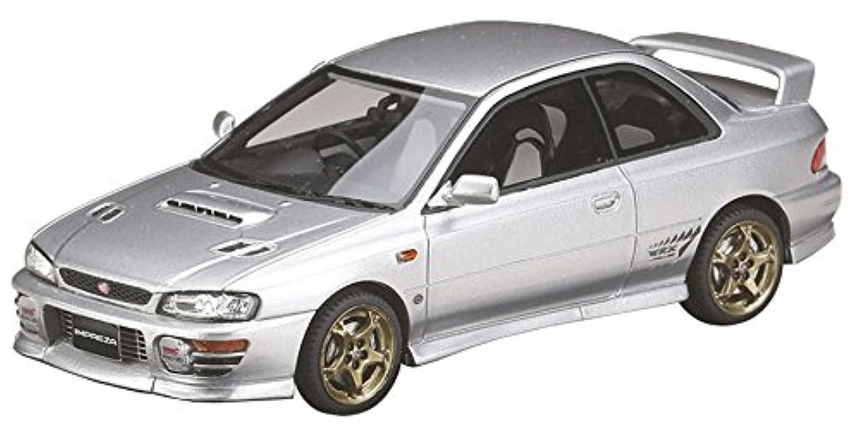 ホビージャパン MARK43 1/43 スバル インプレッサ WRX タイプR Sti Ver.1997 (GC8) ライトシルバーメタリック 完成品