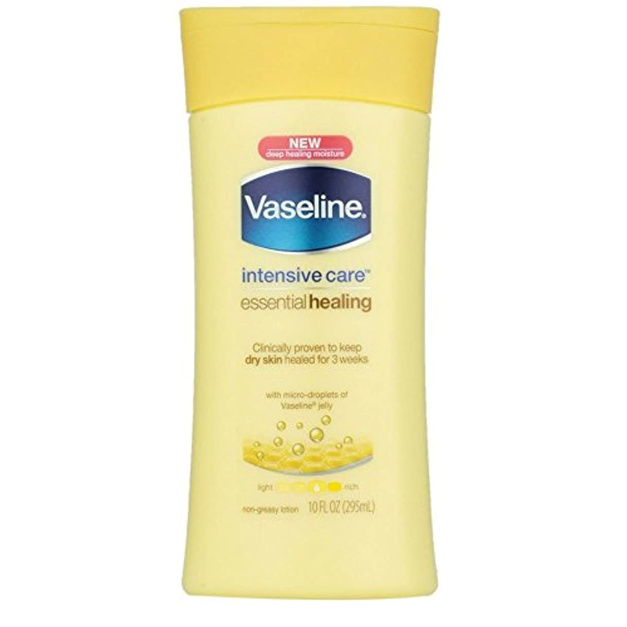 ベッツィトロットウッド突然の徴収Vaseline Intensive Care Essential Healingローション10 oz (Pack of 4 ) WLM