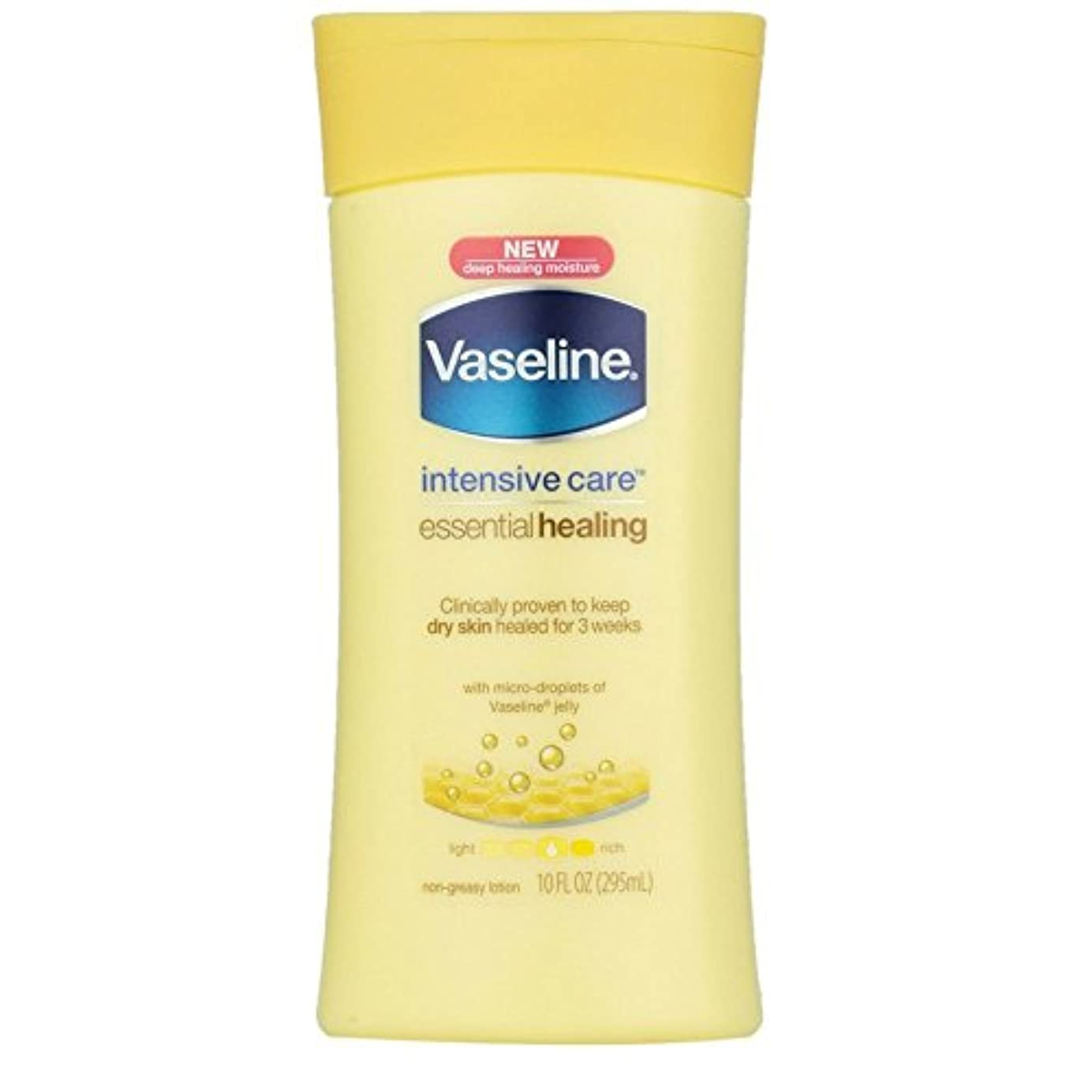 取り除く検出器行くVaseline Intensive Care Essential Healingローション10 oz (Pack of 4 ) WLM