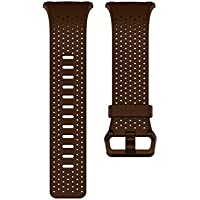 Fitbit FB164LBDBS Ionic Smart Band, Leather, Brown, Small