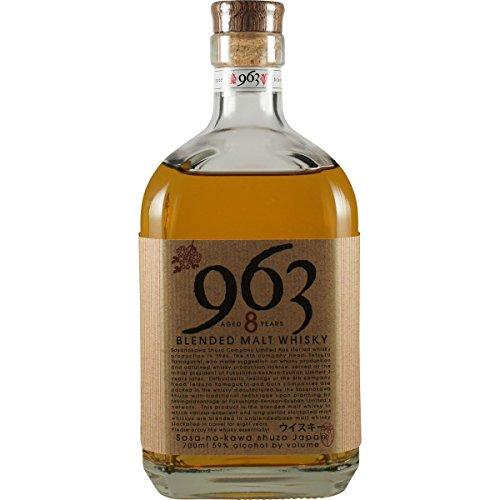 笹の川酒造 ブレンデッド ウィスキー 963-8 700ml