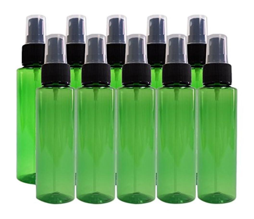 祭司文字人ease 保存容器 スプレータイプ プラスチック 緑色 100ml×10本