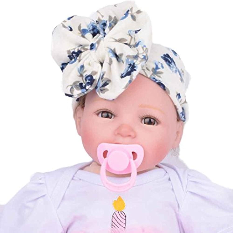 幼児キッズカチューシャヘア、misakyガールズ蝶結びカチューシャヘアターバンリボンHeadwrap