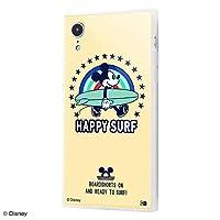 iPhone XR ディズニー 耐衝撃ケース KAKU トリプルハイブリッド/ミッキーマウス Happy Surf IQ-DP18K3C/MK006