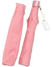オンブレッロ・ジウ 子供 折たたみ傘 50cm 8本骨 簡単開閉 軽量 無地 【指を挟みにくい安全開閉】 SC-5008