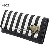 スヌーピー[財布]フラップ型ロングウォレット/長財布 【ストライプ(14862) 】