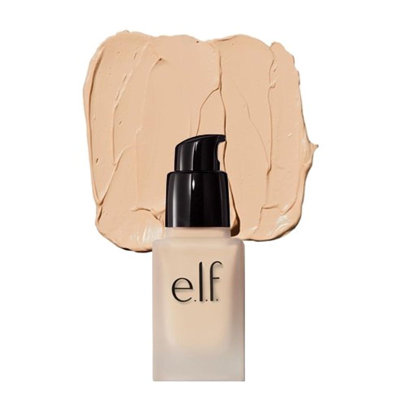 暖かくメタン読みやすい(6 Pack) e.l.f. Oil Free Flawless Finish Foundation - Light Ivory (並行輸入品)
