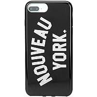 ケイトスペード(kate spade) スマートフォンケース 8ARU2202 38 アイフォンケース iPhone7Plus/iPhone8Plus ブラック 黒/シルバー [並行輸入品]