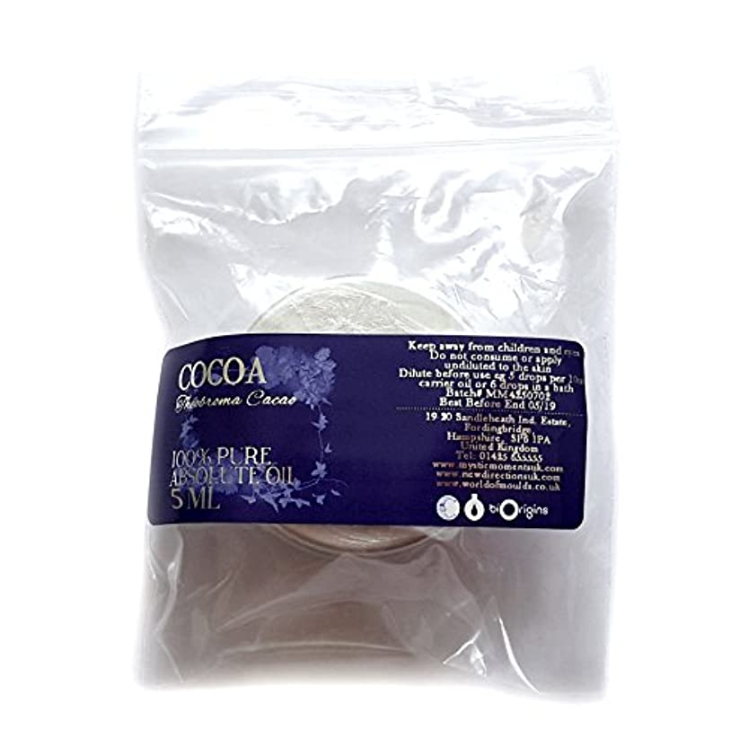 ガラガラ罹患率豚Cocoa Absolute 5ml - 100% Pure