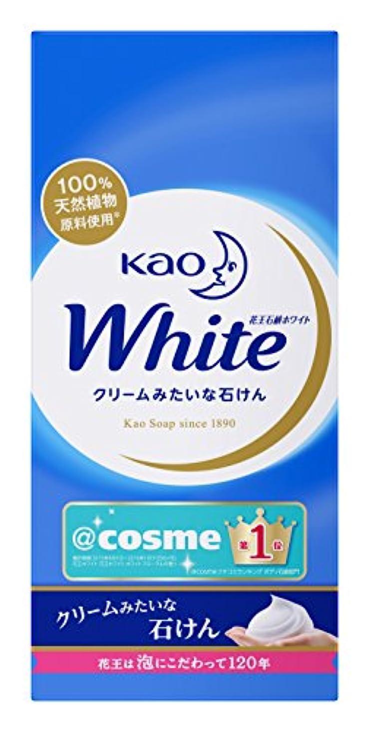 四分円容量活気づける花王ホワイト 普通サイズ 6コ箱