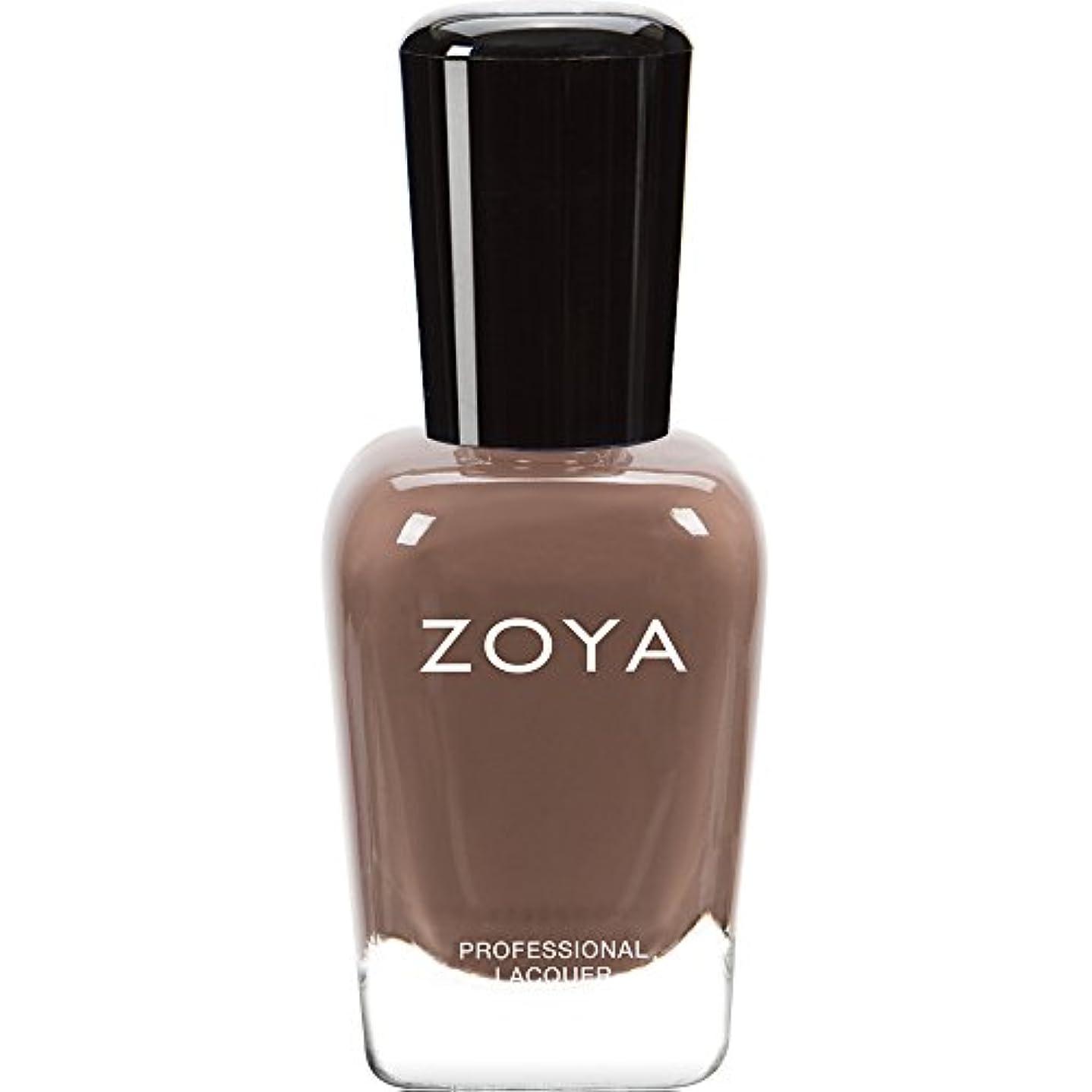 所属特権的助言ZOYA ゾーヤ ネイルカラーZP743  Chanelle シャネル 15ml Naturel DEUX(2) Collection アーモンドクリーム マット 爪にやさしいネイルラッカーマニキュア