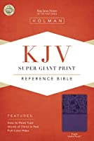 Holy Bible: King James Version, Purple, LeatherTouch, Super Giant Print Reference Bible