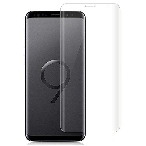 Galaxy Note9 ガラスフィルム Note 9 フィルム 専用 3D 全面 フルカバー Note9 フィルム 6.4インチ Samsung ギャラクシー ノー9 液晶保護フィルム 木箱 国産強化ガラス素材 ケースに干渉せず クリア