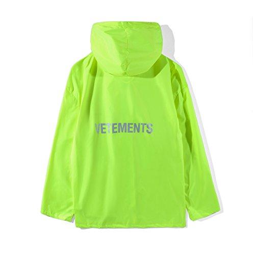 VETEMENTS ヴェトモン レインコート 自転車 バイク ロング ポンチョ 梅雨 雨具 通勤通学 男女兼用 メンズ レディース