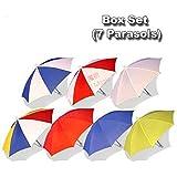 パラソルボックスセット(パラソル7個) / Parasol Box Set (7 Parasols) ---- パラソル生産 / Parasol Production / マジックトリック/魔法; 奇術; 魔力