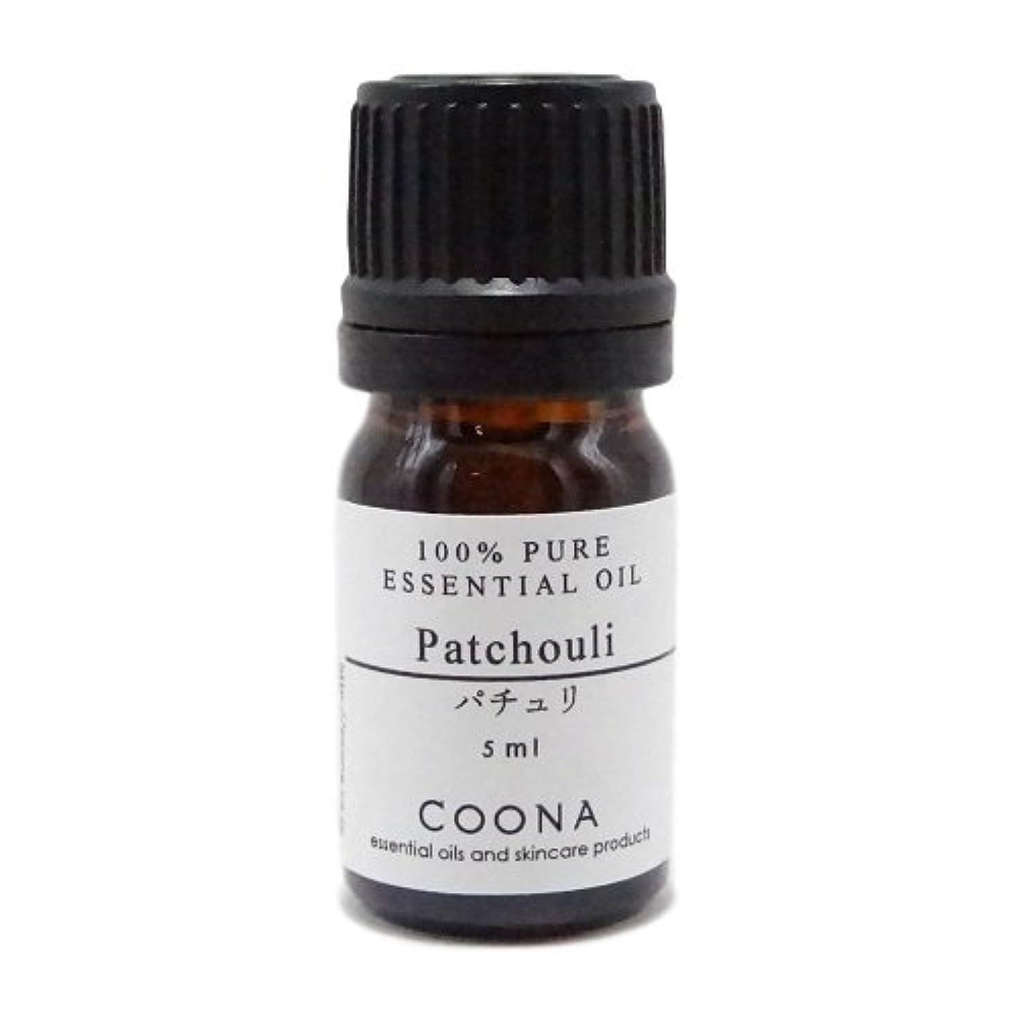 翻訳指定するティッシュパチュリ 5 ml (COONA エッセンシャルオイル アロマオイル 100%天然植物精油)
