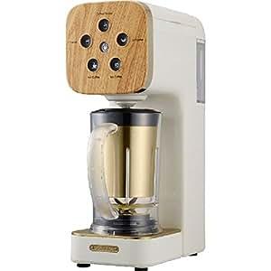 ドウシシャ コーヒーメーカー SOLUNA クワトロチョイス ナチュラルウッド QCR-85B(NWH)