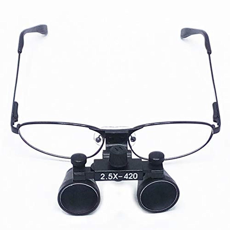 と遊ぶ他に普通のクラシック外科医療2.5X拡大鏡