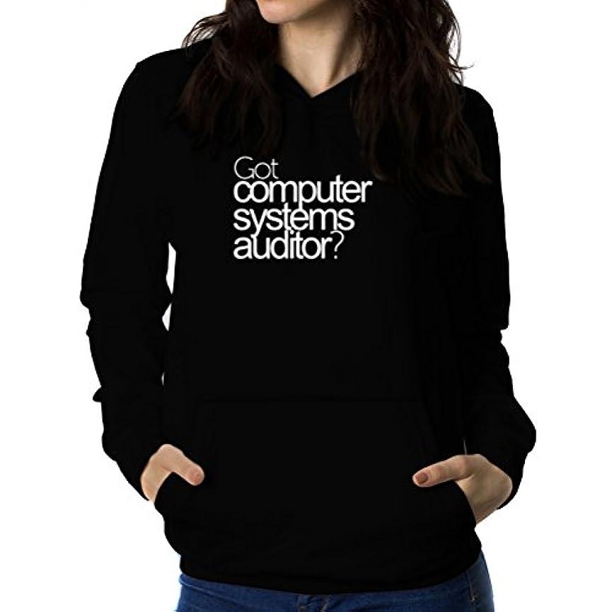 修正するパートナー部分的にGot Computer Systems Auditor? 女性 フーディー