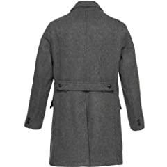 22 oz Tailored Coat F1264M 22208R: Charcoal