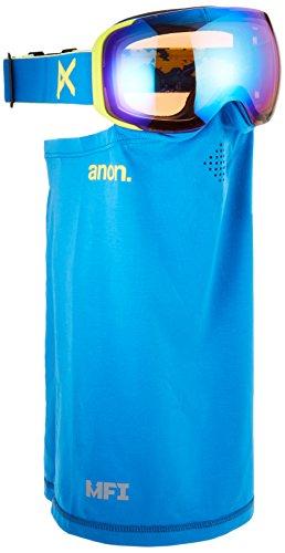 Anon(アノン) スノーボード スキー ゴーグル メンズ M2 Blue / SONAR Blue By ZEISS 185581 アジアンフィット 球面レンズ 業界最速レンズ交換 フェイス付