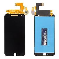 ixuan Motorola Moto G4 Plus XT1644修理用フロントパネル(フロントガラスデジタイザ)タッチパネル Lcd液晶パネルセット 修理工具付き (ブラック)