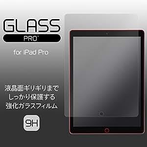 薄型 ガラス GLASS PRO+ Premium Tempered Glass Screen Protection for iPad Pro 液晶 保護 シート フィルム 強化ガラス プロテクター 1775