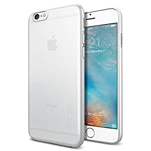 【Spigen】 iPhone6s ケース / iPhone6 ケース, エアースキン [薄さ0.4mm] アイフォン6s / 6 用 カバー (ソフト・クリア SGP11595)