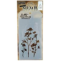 Stampers Anonymous Tim Holtz Layered Wildflower Stencil, 4.125 x 8.5 by Stampers Anonymous