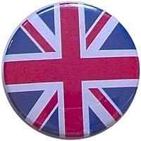 Union Jack ユニオンジャック 缶バッジ London ストリート マーケットからc1n[イギリス直輸入]