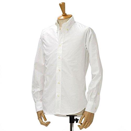 INDIVIDUALIZED SHIRTS【インディビジュアライズドシャツ】オックスフォードボタンダウンシャツ SLIM FIT CAMBRIDGE OX cotton WHITE(ホワイト) (15 1/2)