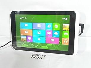 中古タブレットPC Windows8 32bit acer Iconia W3 W3-810/FP 互換Office Atom Z2760 2GB 32GB
