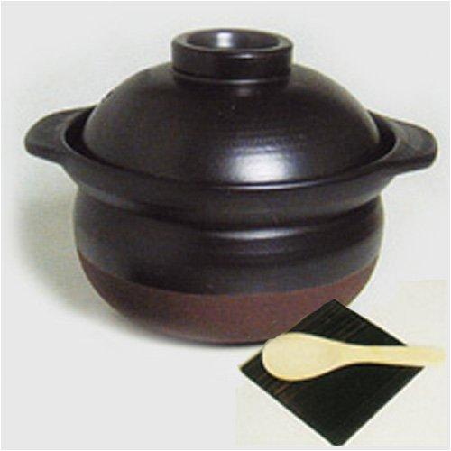 城山陶器 かまど名人(3合炊き) 584-0004
