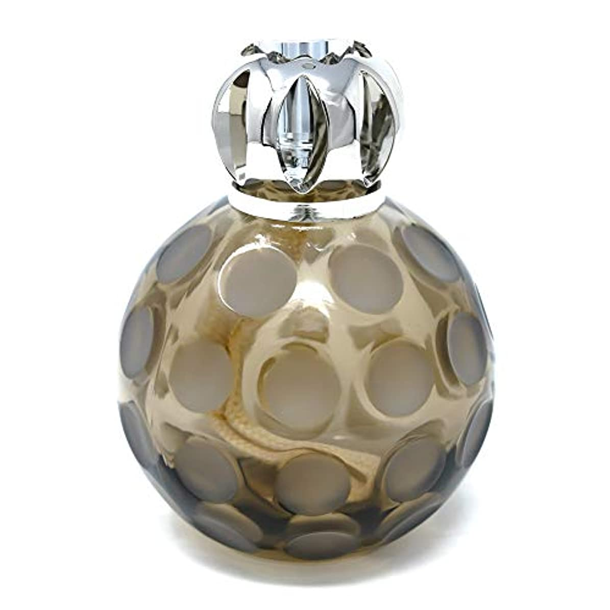 母音不満防腐剤Maison Berger | Lamp Bergerモデル球| Smoky | ホームフレグランスディフューザー | 浄化と香水 | 5x3x3.5インチ | フランス製